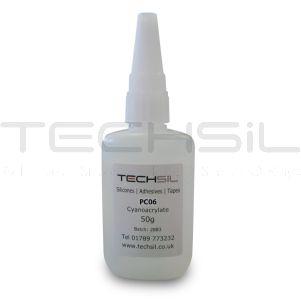 Techsil® PC06 Low Visc. Cyanoacrylate 40cPS 50gm