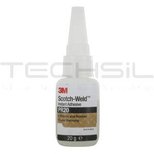 3M™ ScotchWeld™ PR20 Clear Instant Adhesive 20gm