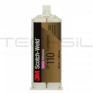 3M™ ScotchWeld™ DP110 Translucent Epoxy Adhesive 50ml