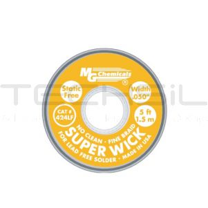 MG Chemicals Superwick #2 Copper (Lead Free)1.27mm