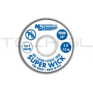 MG Chemicals Superwick #4 Copper 2.50mm x 1.5m