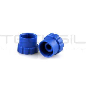 Nordson EFD Optimum® 10/30cc Blue Syringe Tip Caps