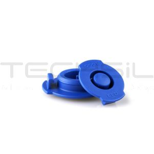 Nordson EFD Optimum® 10cc Blue Syringe End Caps