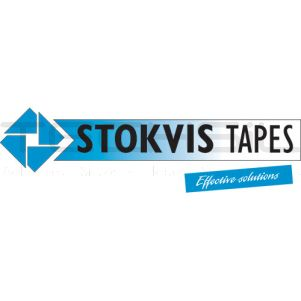 Stokvis SSF3509 Single Sided PVC Tape 75mm x 25m