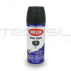 Krylon® High Heat Satin Black Paint 12oz Can