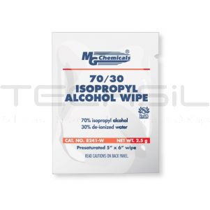 MG Chemicals 70/30 Isopropyl Alcohol Wipe 25 Pack