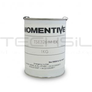 Momentive TSE326M EX Red High Temp Silicone 1kg