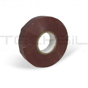 Techsil® 268 Brown PVC Electrical Tape 19mm x 33m
