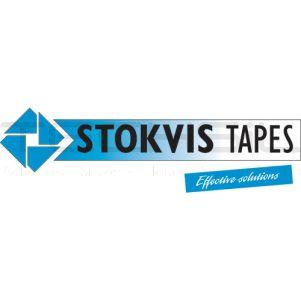 Stokvis VLLM15BK Black Velour Tape 40mm x 50m