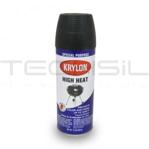 Krylon® High Heat Satin Black Paint 12oz Can