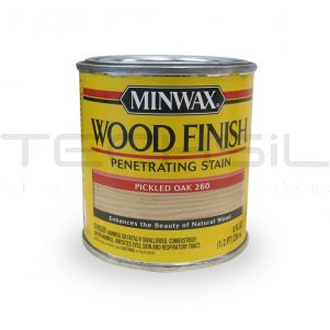 Minwax® Wood Finish? Stain Pickled Oak 8 Fl Oz