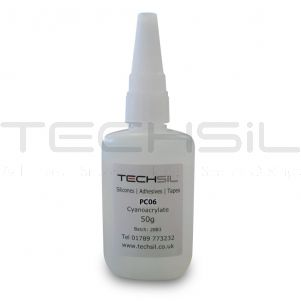 Techsil® PC06 Low Visc. Cyanoacrylate 40cPS 50gm