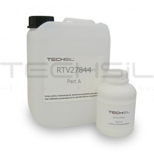 Techsil® RTV27844 Clear Silicone 44 Shore A 11lb