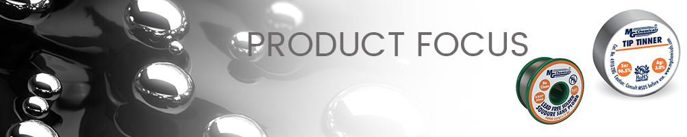Product Focus Banner MG Soldering Supplies